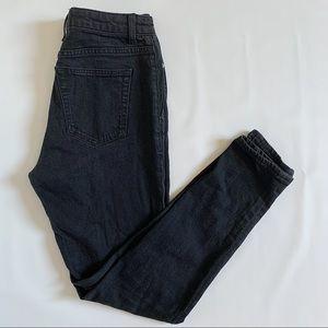 Yves Saint Laurent mid-rise skinny jeans